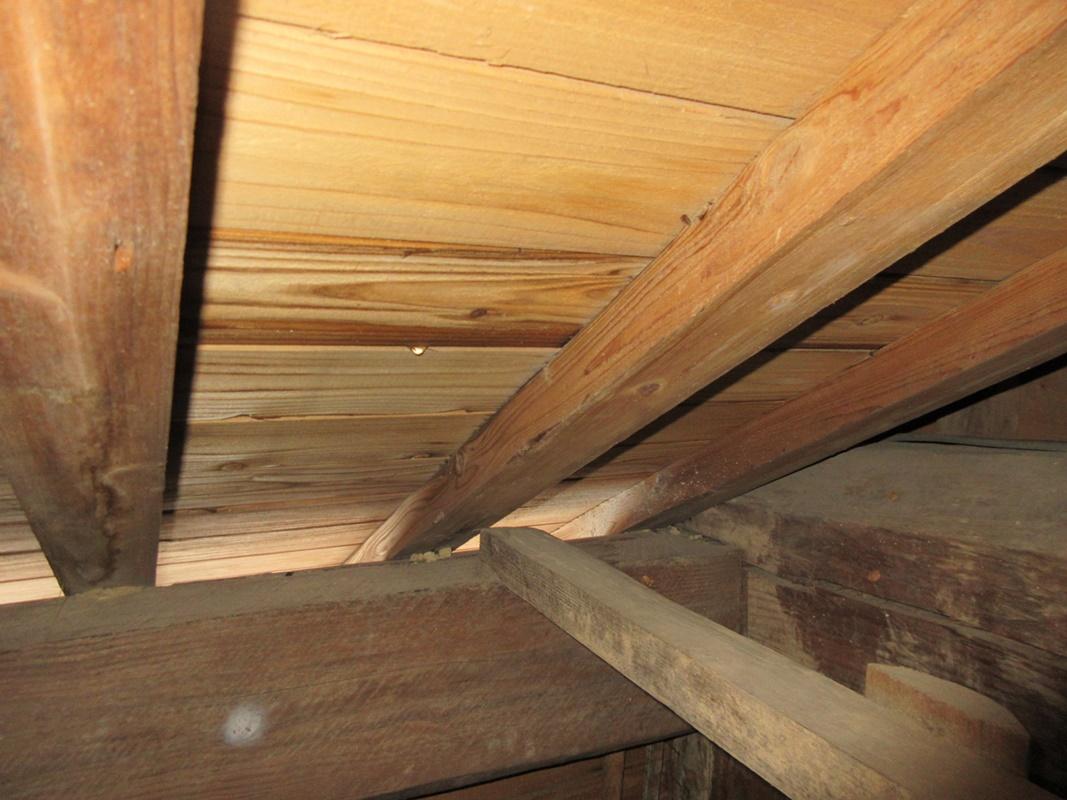 【施工例】谷のオーバーフローによる雨漏り 天草市O様邸